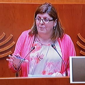 Victoria Domínguez , forma ya parte de la Mesa Asamblea de Extremadura.