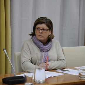 """Victoria Domínguez: """"Estamos vigilantes para que la Junta cumpla y mejore la calidad de vida de la discapacidad""""."""