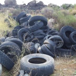 Ciudadanos (C's) critica la existencia de neumáticos abandonados ante la  pasividad del Concejal de Medio Ambiente.