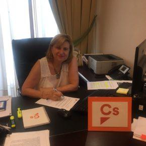 Ciudadanos Badajoz conoce de primera mano las últimas actuaciones para la rehabilitación de El Campillo