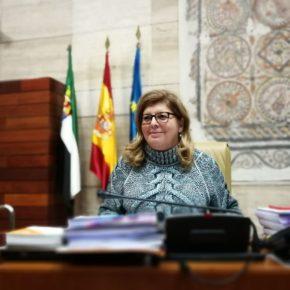 """Victoria Domínguez: """"Gracias a Ciudadanos las becas para comedor y transporte escolar aumentan 400.000 euros este año"""""""