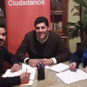Cs Montijo defiende junto a la asociación de empresarios de la ciudad reactivar el tejido empresarial con mayor apoyo al sector y más suelo industrial