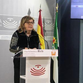 Victoria Domínguez pide al presidente de la Junta que explique las medidas frente al cierre de oficinas bancarias enel medio rural