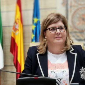 """Victoria Domínguez: """"Las oficinas bancarias son un servicio básico al que ningún municipio puede renunciar"""""""