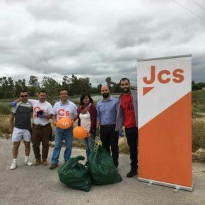 Jóvenes Cs Extremadura organiza una campaña de limpieza de bosques y ríos en diferentes puntos de la región