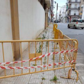 Cs Almendralejo pide al Gobierno local que mejore la accesibilidad en el acerado municipal