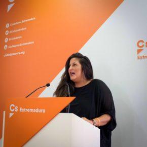Cs Extremadura insta al Gobierno de Vara a que trabaje en buscar inversiones que generen empleo