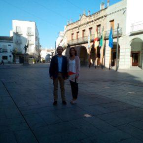 Cs Villanueva de la Serena propone un uso racional de la Plaza de España para evitar molestias a los vecinos