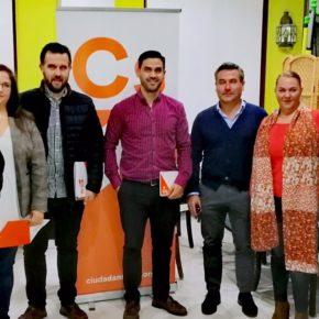 Cs Vegas Bajas expone a la Asociación de Empresarios de Montijo medidas naranjas para reactivar el tejido empresarial de la zona