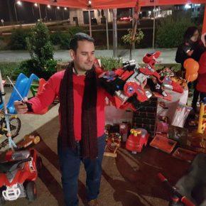 Jóvenes Cs de Extremadura amplía la campaña de recogida de juguetes y comida a once municipios de la región