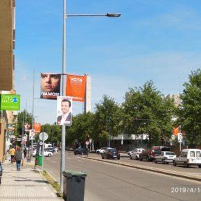 La Junta Electoral de Zona de Badajoz da la razón a Ciudadanos en su reclamación contra Unidas Podemos
