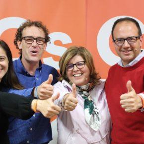 """Polo y Domínguez (Cs) animan a votar en masa el 28A para que """"haya cambio"""" y los extremeños """"tengan verdaderas oportunidades en su tierra"""""""