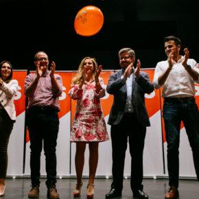 """Polo y Hervías (Cs) animan a acudir a las urnas y depositar el voto naranja de la ilusión porque """"estamos a un puñado de votos para el cambio"""""""