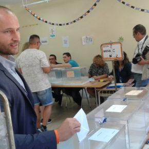 """Los candidatos de Cs en Mérida, Cáceres, Badajoz y Plasencia animan a los extremeños a que voten """"con ilusión y por el cambio"""""""