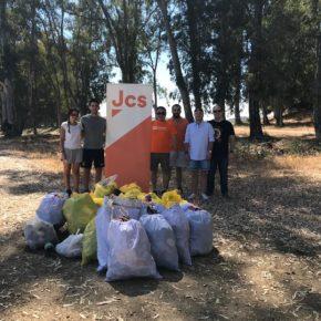 Arranca en Badajoz la II Campaña de Limpieza de Medio Ambiente de Jóvenes Ciudadanos