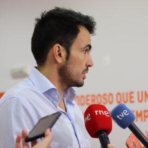 """Salazar (Cs): """"El descenso del paro es poco comparado con otros meses de junio y nos preocupa que haya un cambio de tendencia"""""""