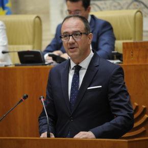 """Polo (Cs) critica que la Junta """"no tenga valor"""" para reclamar un modelo de financiación autonómica """"más solidario"""""""