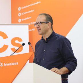 """Polo (Cs): """"La situación del transporte en Extremadura es caótica y Vara solo pone parches al problema"""""""