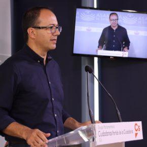 """Cs exige a Vara que convoque el Pacto por el Ferrocarril de forma """"urgente"""" y una manifestación el 18N en Madrid"""