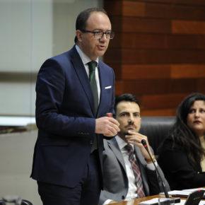 """Polo (Cs): """"La mina de Cáceres debe salir del debate político y dejar que los técnicos de la Junta evalúen el proyecto"""""""