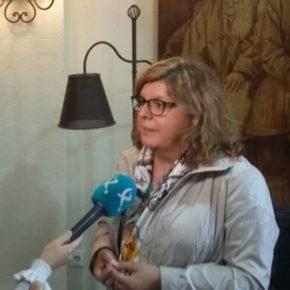 """Domínguez (Cs): """"El tren no es un tema de partidos sino una reivindicación justa y legítima de todos los extremeños"""""""
