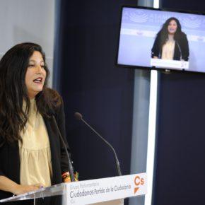 """Pérez (Cs): """"El área de juventud ha sufrido el mayor tijeretazo de los PGEx con partidas reducidas a 100 euros"""""""