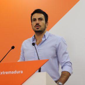 """Salazar (Cs): """"Apelamos al PP y al PSOE para que formen un gobierno moderado que afronte una época que será dura"""""""