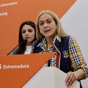 """Marta García (Cs): """"Los agricultores y ganaderos queremos trabajar y no tener que dejar nuestra producción para hacer papeles"""""""
