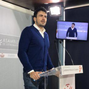 """Salazar (Cs): """"Vara quiere esconder tras una cortina de humo que su partido en Madrid está negociando desde la cárcel"""""""