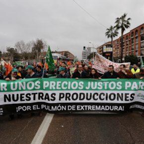 """Polo (Cs): """"Estamos al lado de los agricultores y exigimos al gobierno soluciones urgentes para el campo extremeño"""""""