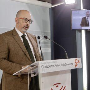 """Casares (Cs): """"La Junta debe reconocer sus errores presupuestarios y realizar un plan económico nuevo"""""""