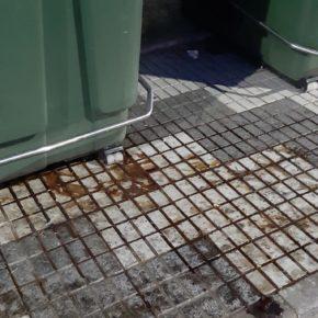 Cs Mérida alerta de la falta de limpieza en algunas calles de la ciudad y del mal estado de contenedores