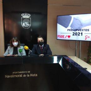 """Cs Navalmoral consigue que se construya un parking en Las Minas y asegura estos presupuestos """"conjuntos"""" mejoran la vida de los moralos"""